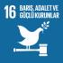16. Barış, Adalet ve Güçlü Kurumlar