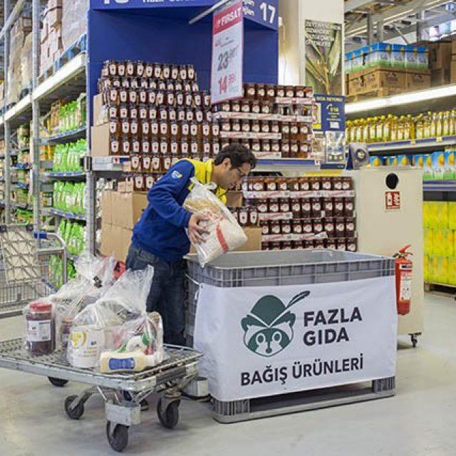Metro Türkiye ve Fazla Gıda İş Birliği